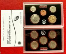 2017-S US 225th Annv Enhanced Uncirculated Coin Set
