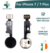 For iPhone 7 / iPhone 7 Plus Home Button Fingerprint Touch ID Flex Cable Black
