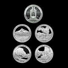 2010 S America the Beautiful National Parks Mint Silver Proof Set