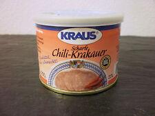 Scharfe Chili-Krakauer vom Metzger keine Industrieware Konserven 200 gramm