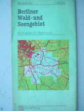 8648 Touristenkarte Berliner Wald- u. Seengebiet 1974