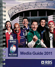 RBS 2011 Six Nations Media Guide Rugby Booklet