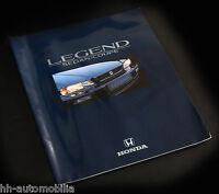 Honda Legend Sedan Coupé Prospekt 1991 5/91 NL 24 S. brochure Großformat catalog