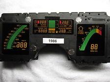 1986 Corvette Chevrolet digital dash instrument cluster Rebuilt 84 85 87 88 89