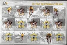 STAMP / TIMBRE FRANCE NEUF BLOC N° 59 ** SPORT / CYCLISME TOUR DE FRANCE
