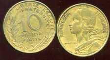 FRANCE  FRANCIA   10 centimes 1971  pas courant