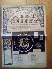 LE JOURNAL DES BRODEUSES JOURNAL PROFESSIONNEL N°735 - 1956