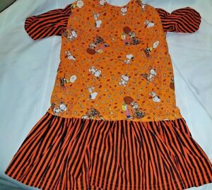 Girls Size 6-8 Boutique Holiday Clothing Dress & Play Clothes Snoopy Halloween
