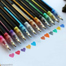 12 Color Gel Pen Set Color Art Glitter Pens Neon Coloring Ink Painting Craft Hot