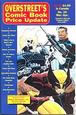 Overstreets Comic Book Price Update  no 20 1991 MINT Vintage buying guide