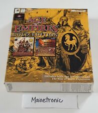 Age of Empires: Gold Edition (PC, 1999) - Vintage Game in Original Box