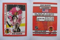 2015 SCA Bob Mason Chicago Blackhawks goalie never issued produced #d/10 rare