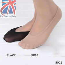 10 PAIRS WOMENS LADIES GIRLS SKIN SHOE LINERS FOOTSIES INVISIBLE THIN SOCKS S002