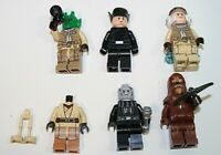 LEGO Mixed Joblot Bundle X6 Star Wars Minifigures Minifigs Figures City