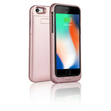 Indigi Elegant Rose Gold External Battery Case for iPhone 8 Plus - 4000mAh
