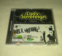 Public Warning [PA] by Lady Sovereign (CD)