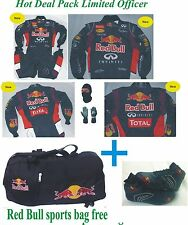 Go Kart Race Suit CIK/FIA Level 2 (Free gift sports Red Bull Bag )