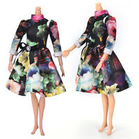 """2016Top Fashion Beautiful Handmade Party Clothes Dress for 9""""  Doll MiniLJ"""