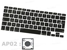  (NEUF) SET DE 79 TOUCHES CLAVIER FR APPLE MACBOOK PRO A1278 A1286 A1297 AP02