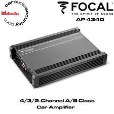 Focal AP-4340 - 4/3/2 Channel A/B Class Car Amplifier Speaker Amp Bridgable Amp