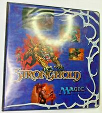 MTG Stronghold 3 D-Ring Binder - Magic the Gathering Rembrandt - USED