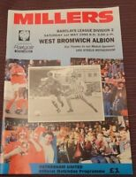 Rotherham United v West Bromwich Albion 1 May 1993