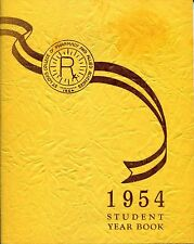 ST LOUIS COLLEGE OF PHARMACY AND ALLIED SCIENCES - STUDENT YEAR BOOK - 1954