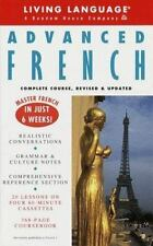 NEW: Living Language: Advanced French : Complete Course (Cassette w/ book)