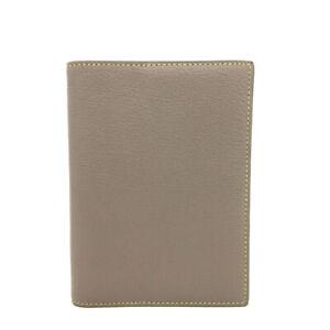 HERMES Glay Chevre Leather Agenda Notebook Cover /82750