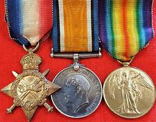 WW1 BRITISH AUSTRALIAN ARMY MEDAL TRIO LT PEARSON RFC EAST KENT YEOMANRY 44TH BN