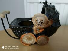 YANKEE CANDLE 'BONEY BUNCH' BABY CARRIAGE TEA LIGHT HOLDER - PERFECT CONDITION