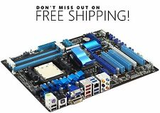 ASUS M4A88T-V EVO/USB3 Socket AM3 MotherBoard  AMD 880G AS IS - Free Shipping