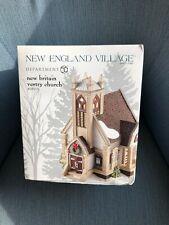 Dept 56 New England Village New Britain Vestry Church # 4025270 Nib!