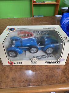 Bugatti Burago Scala 1/18 Vintage Italy