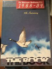 High School Yearbook NORMAN BETHUNE Scarborough, Ont 1988-1989 The Book