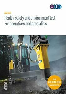 CSCS Card Test Book Health and Safety for Operatives and Specialists2019 100/19!