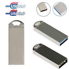 MetalL USB 3.0/2.0 Flash Memory USB Pen Drive Storage U Disk 64GB ~ 128MB