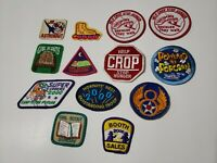 Vintage Lot of Girl Scouts of America Patches Assorted GSA & Random Assortment