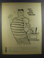 1964 Cape Insulation and Asbestos Products Limited Ad - Turn that platter