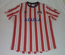 2013 ATLETICO JUNIOR DE BARRANQUILLA UMBRO LARGE 10 ORTEGA COLOMBIA JERSEY TEO