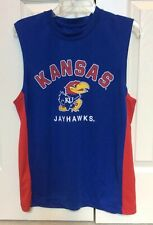 Mens KU Jayhawks Sleeveless Shirt University Of Kansas Campus Heritage Medium