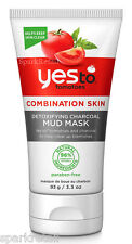 Yes To Tomatoes Combination Skin Detoxifying Charcoal Face MUD MASK 93g