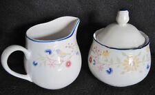 SANGO Porcelain Sugar & Creamer Serving Set - Country French Heritage 3914