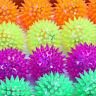 Flashing Light Up Spikey High Bouncing Balls New Sensory Hedgehog Ball Toy Best
