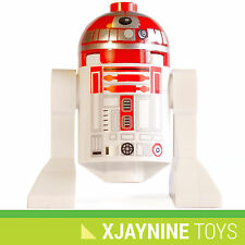 GENUINE LEGO Star Clone Wars Red Astromech R2-D2 Droid Minifig NEW