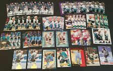 JEFF FRIESEN 48 CARD LOT OF ALL MINT CARDS MOSTLY ROOKIES SAN JOSE SHARKS