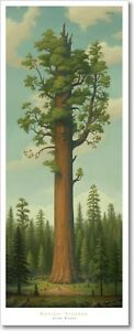 """Mark Ryden """"General Sherman"""" Sequoia Giant Forest Hikers Spread Love No Hate"""