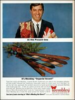 1963 Jerry Lewis Wembley Ties Christmas gifts boxed vintage photo print Ad adL33
