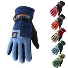 Winter Snow Sports Thermal Warm Fleece Gloves Ski Skate Snowmobile Snowboarding