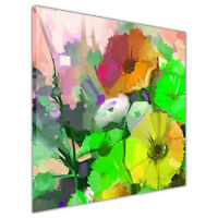Green Bouquet Floral Art on Framed Canvas Wall Prints Home Decoration Pictures